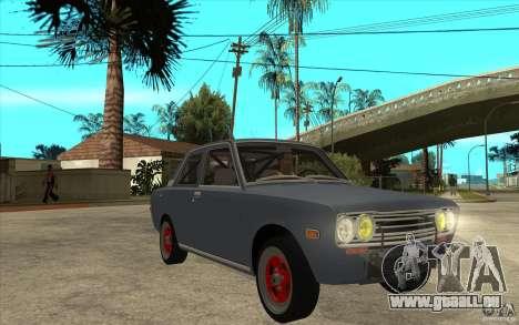 Datsun 510 JDM Style für GTA San Andreas Rückansicht