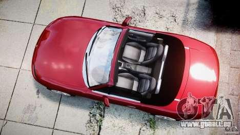 Mazda MX-5 Miata pour GTA 4 est un droit