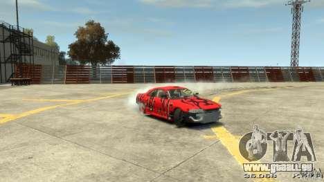 Nissan SkyLine R33 Gt-R S.R für GTA 4 Unteransicht