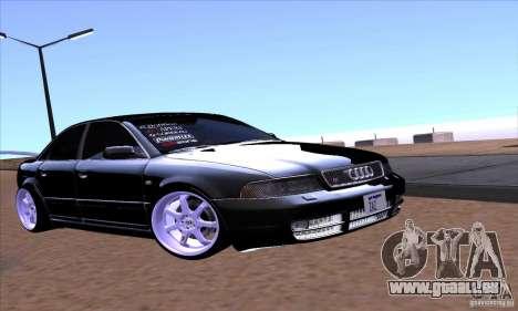 Audi S4 Light Tuning für GTA San Andreas Seitenansicht
