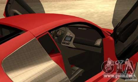 Audi R8 Custom für GTA San Andreas rechten Ansicht
