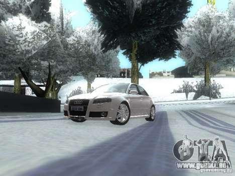 Audi RS4 für GTA San Andreas linke Ansicht