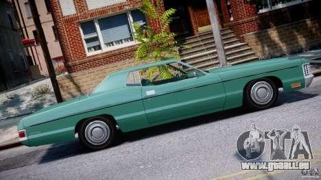 Mercury Monterey 2DR 1972 für GTA 4 linke Ansicht