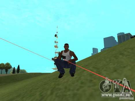 Laser Weapon Pack für GTA San Andreas dritten Screenshot