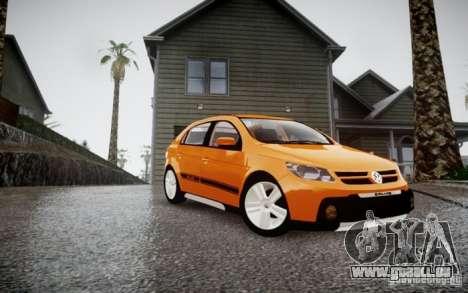 Volkswagen Gol Rallye 2012 pour GTA 4 Vue arrière de la gauche