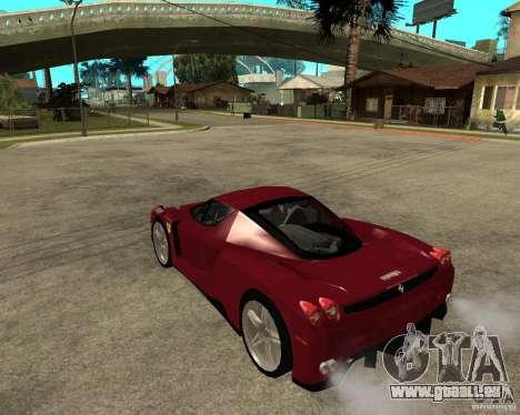 Ferrari ENZO 2003 v.2 final pour GTA San Andreas laissé vue