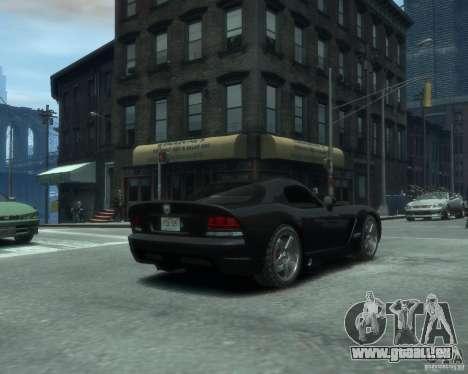 Dodge Viper srt-10 Coupe für GTA 4 hinten links Ansicht