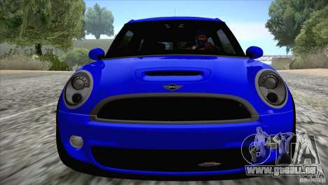 MINI Cooper Clubman JCW 2011 pour GTA San Andreas vue arrière