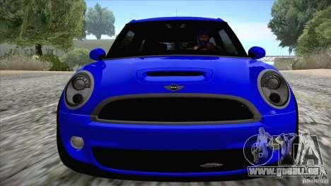 MINI Cooper Clubman JCW 2011 für GTA San Andreas Rückansicht