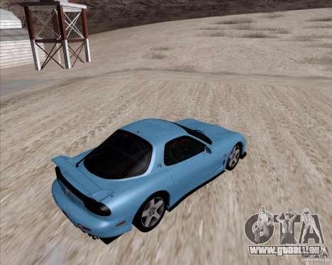 Mazda RX7 2002 FD3S SPIRIT-R (Type RS) für GTA San Andreas rechten Ansicht