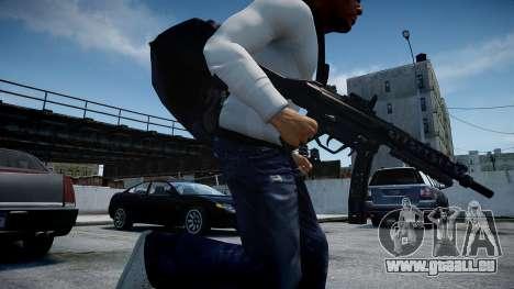 MP5 (CoD: Modern Warfare 3) für GTA 4 weiter Screenshot