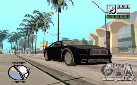 Dodge Charger SRT8 für GTA San Andreas Seitenansicht