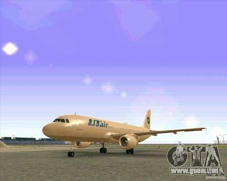 Airbus A-320 compagnie aérienne UTair pour GTA San Andreas