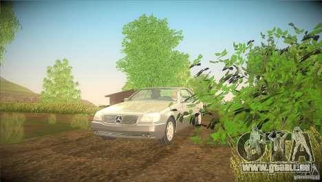Mercedes Benz 600 SEC für GTA San Andreas