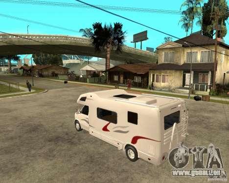 Chevrolet Camper pour GTA San Andreas laissé vue