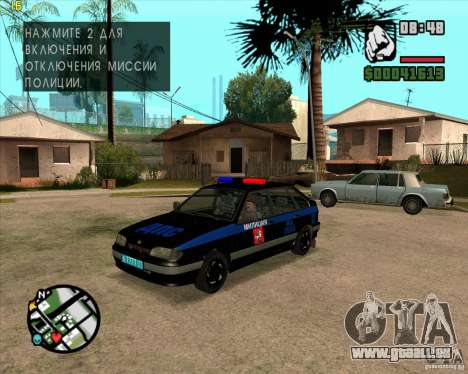ВАЗ 2114 DPS tuning pour GTA San Andreas