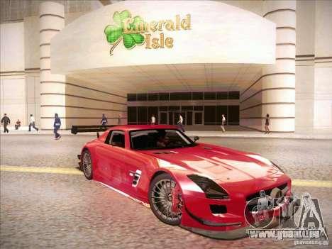 Mercedes-Benz SLS AMG GT-R pour GTA San Andreas sur la vue arrière gauche