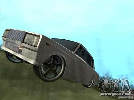 VAZ 2105 leichte Tuning für GTA San Andreas rechten Ansicht