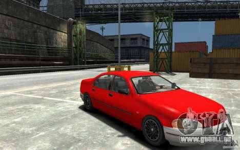 Kuruma de GTA 3 pour GTA 4 Vue arrière