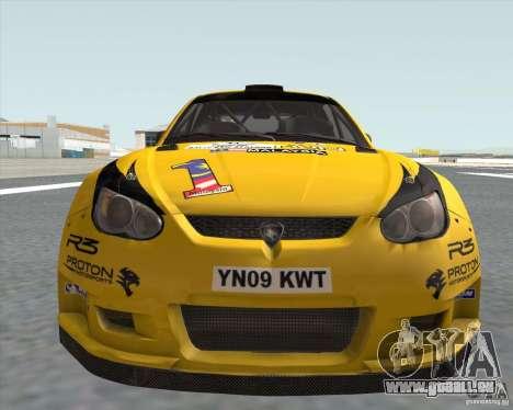 Satria Neo S2000 pour GTA San Andreas sur la vue arrière gauche