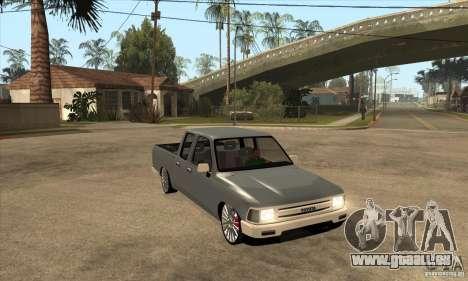 Toyota Hilux 1990 pour GTA San Andreas vue arrière
