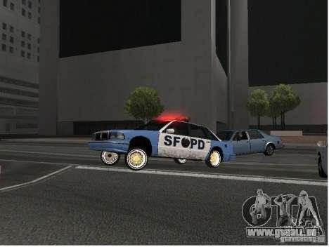 Deluxo Wheels Mod pour GTA San Andreas deuxième écran