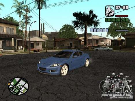 Mazda RX 8 für GTA San Andreas