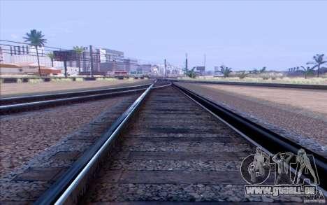 Russische Bahn Version V1. 0 für GTA San Andreas zweiten Screenshot