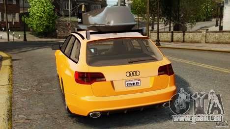 Audi A6 Avant Stanced 2012 v2.0 pour GTA 4 Vue arrière de la gauche