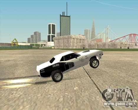 Plymouth Hemi Cuda Rogue für GTA San Andreas Innenansicht