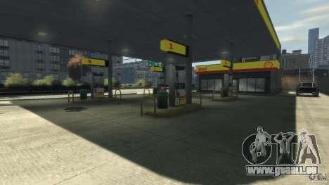Shell Petrol Station pour GTA 4 troisième écran