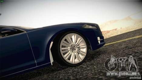 Jaguar XJ 2010 V1.0 für GTA San Andreas Motor