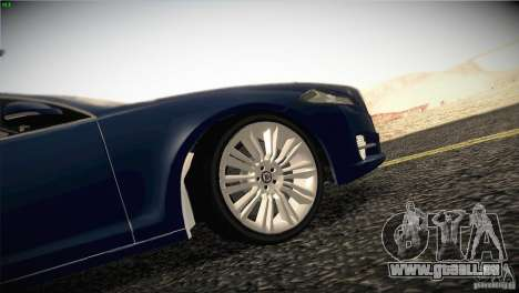 Jaguar XJ 2010 V1.0 pour GTA San Andreas moteur