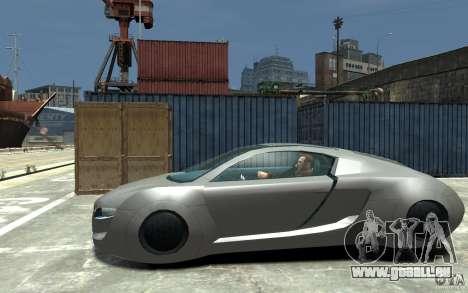 Audi RSQ Concept pour GTA 4 est une gauche