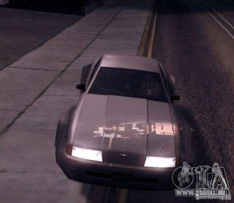 Elegy Wide Body für GTA San Andreas linke Ansicht