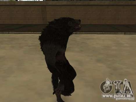 Werewolf from The Elder Scrolls 5 für GTA San Andreas zweiten Screenshot