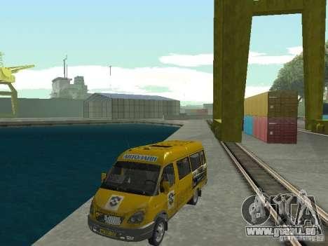 Gazelle-Taxi für GTA San Andreas