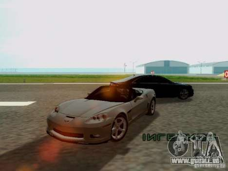 Chevrolet Corvette C6 GS Convertible 2012 für GTA San Andreas linke Ansicht