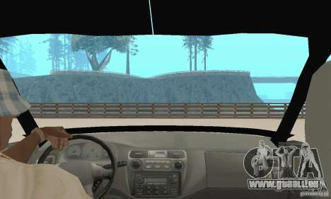 Mitsubishi Galant pour GTA San Andreas vue intérieure