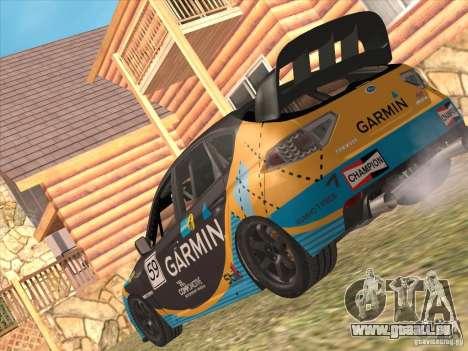 Subaru Impreza WRX STI N14 Gymkhana pour GTA San Andreas roue