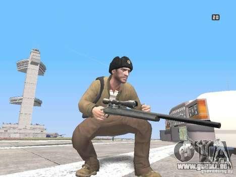 HQ Weapons pack V2.0 pour GTA San Andreas cinquième écran