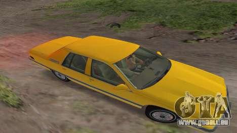 Buick Roadmaster 1994 pour GTA Vice City vue arrière