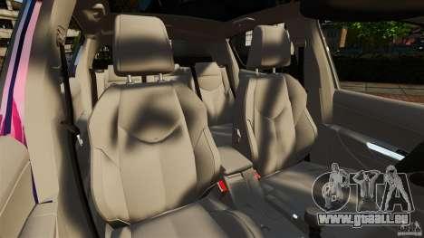 Peugeot 308 2007 pour GTA 4 est une vue de l'intérieur