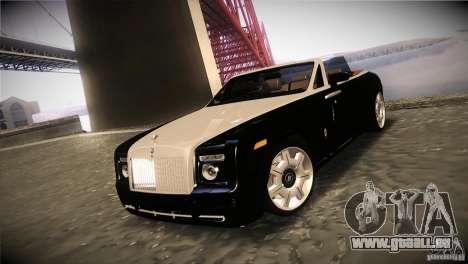 Rolls Royce Phantom Drophead Coupe 2007 V1.0 pour GTA San Andreas
