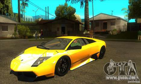Lamborghini Murcielago LP 670 SV für GTA San Andreas