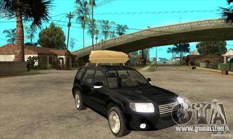 Subaru Forester 2005 für GTA San Andreas Rückansicht