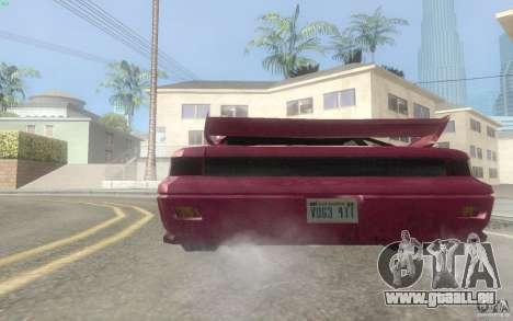New Alpha pour GTA San Andreas vue de droite