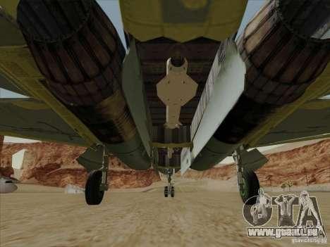 T-50 Pak Fa pour GTA San Andreas moteur