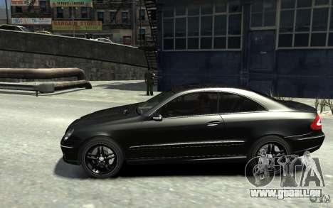 Mercedes-Benz CLK55 AMG 2003 v1 für GTA 4 linke Ansicht