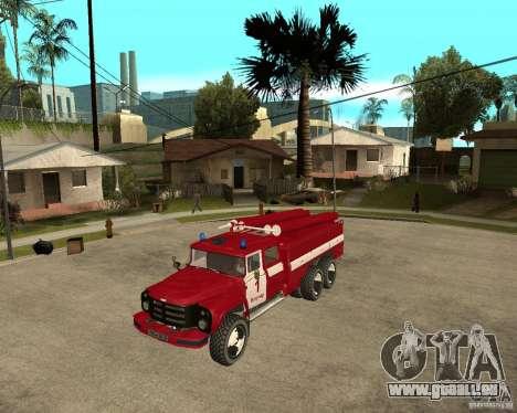 ZIL 133GÂ AC Feuer für GTA San Andreas